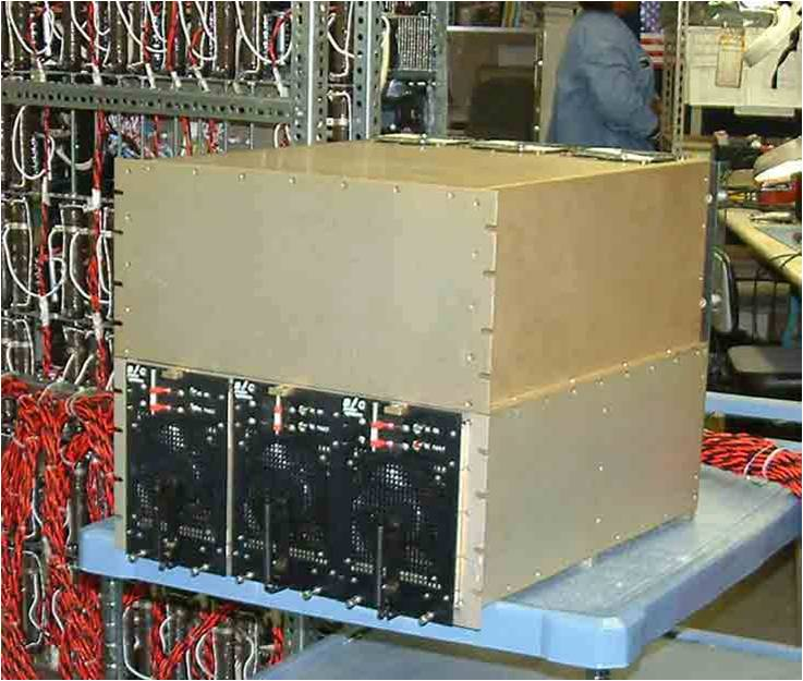 Phase array radar power supply